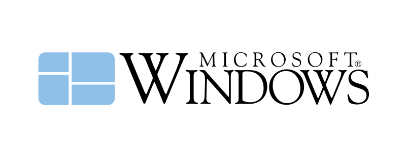 windows logo vector version 1.0 логотип вектор
